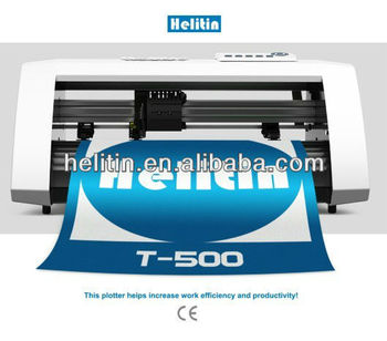 Helitin Sticker Cutting Plotter T500BC With Optical Sensor