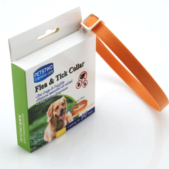 Wholesale adjustable Dog Collar flea and Tick Collar Pet Supplier for dogs and cats