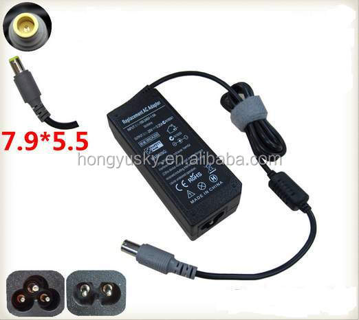 65W Laptop Charger for Lenovo notebook charger with 7.9*5.5mm DC tip