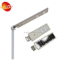 Outdoor motion sensor all in one integrated street light 30W solar garden