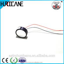 28mm 1 mhz piezoelectric crystal factory/ piezo ultrasonic transducer