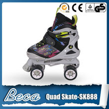 adjustable cheap kids roller blade ice skate 3 in 1 quad skating