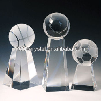 Crystal Sports Ball Award