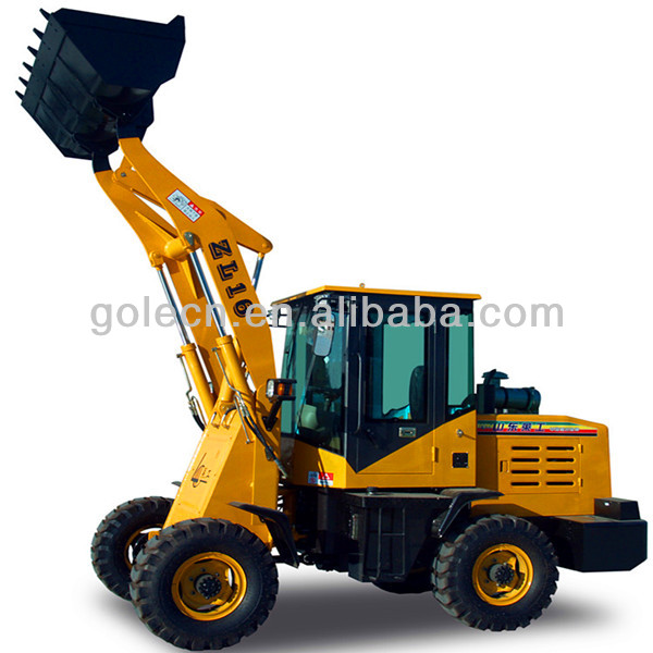 Chinese made ZL16 small front end loader for sale
