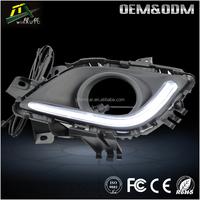 Super bright Led Headlight fog Lamp for mazda 6 daytime running light