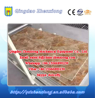 New PVC artificial stone production line for decoration board