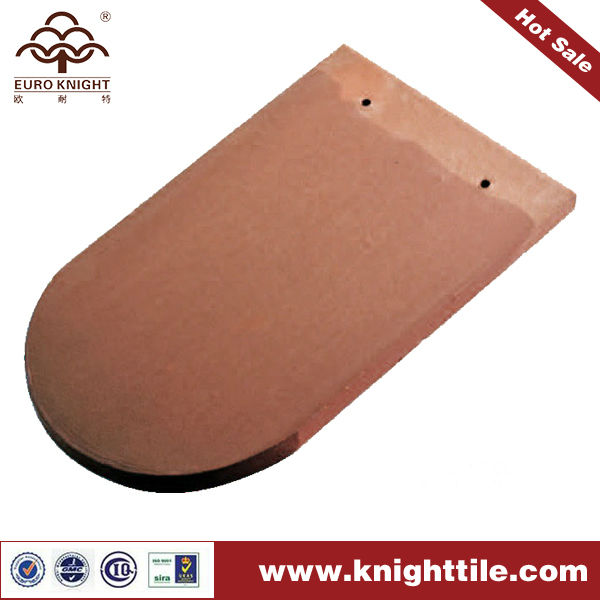 Nature Clay Fish Scales Shape Roof Tiles 280x180mm
