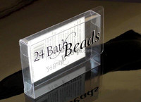 Custom clear hard plastic packaging boxes
