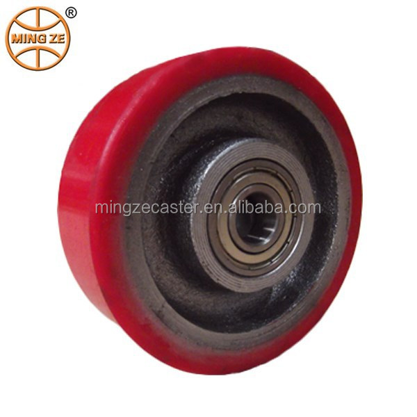 "Mingze 3""/4""/5""/6""/8"" ball bearing forklift truck wheel"