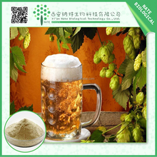TOP grade Humulus lupulus extract/LOW price beer hops powder /flavone 5:1 European Hop Spike Extract