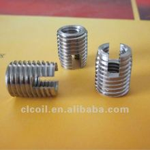 M3 M5 M6 M8 etc Ensat cylindrical metal bushings self tapping inserts