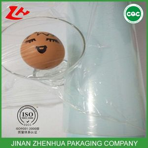 alibaba prices plastic film clear food cling film polyester film