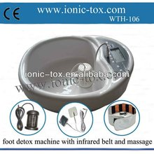 stainless steel foot bath with FIR belt to use