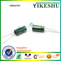 high quality aluminum electrolytic capacitor 1000uF 25V