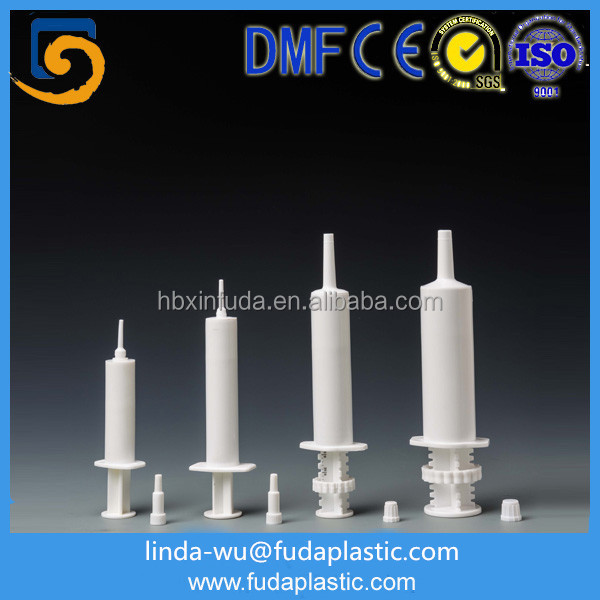 Hot sale!!!plastic veterinary disposable syringe with tip caps manufacturer 8ml 10ml 30ml 60ml