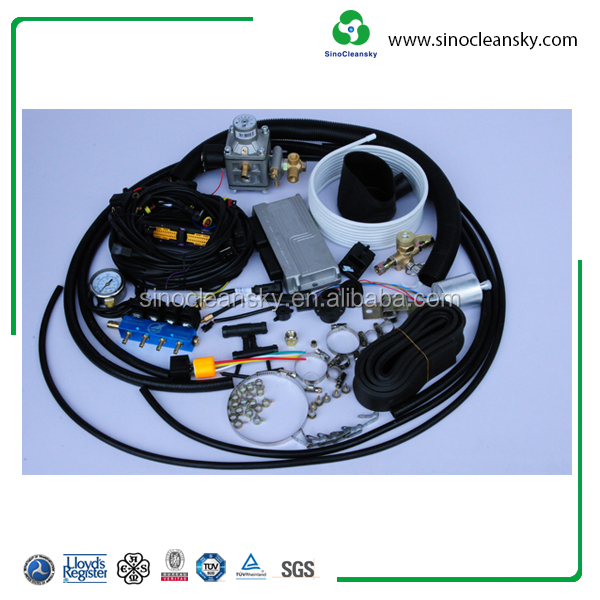 Use for 4 and 8 Cylinder Vehicle Diesel CNG Conversion Kit