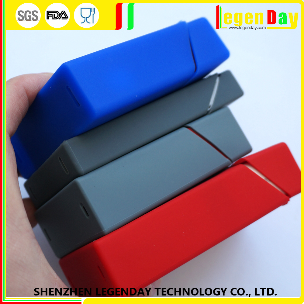 China New products soft custom made silicone cigarette case