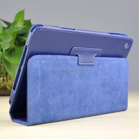 13001 New style flip cheap PU leather tablet case for ipad mini