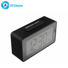 WiFi Hidden Spy Camera Desk Clock Wireless with 1080P HD Video- WiFi DVR Low Cost MINIi IP WIFI Camera