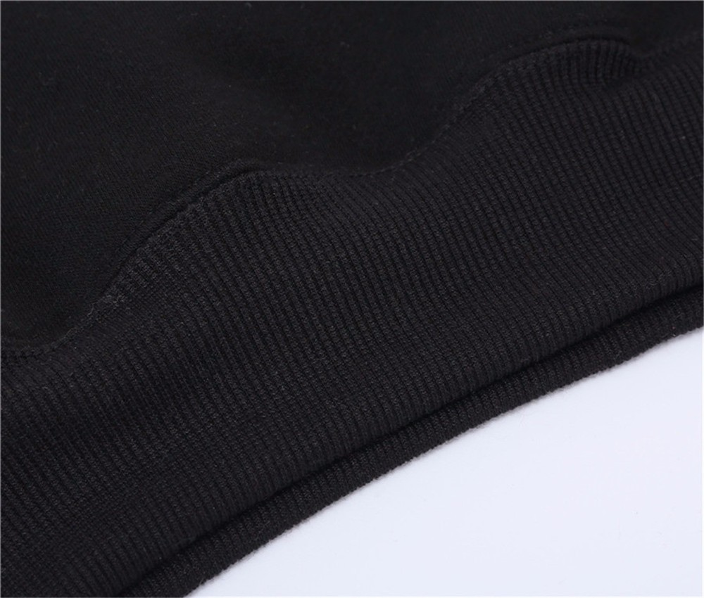 2019 Cotton blending custom design oem logo plain blank Pullover Hoodie Wholesale