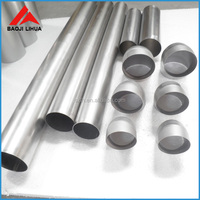 gr1 gr2 gr4 pure titanium tube/pipe price for industrial