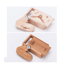 Wholesale 8 16 32 64 128 gb pendrive special wood usb flash drive with logo printing