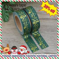 Custom printed Christmas adhesive tape with great price