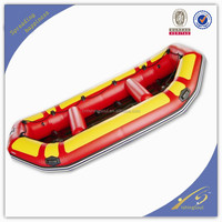 FSBT015 6 person sport boat with engine inflatable boat for sale cheap boat inflatable