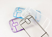 clear PC+color TPU phone cases for samsung galaxy S5 from china factory