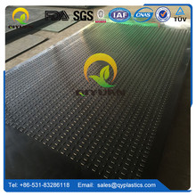 1/2 inch thick polyethylene mobile ground protection mats