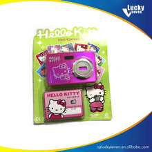 2017 New Design Children Hello Kitty camera shaped toy for promotion