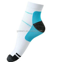 custom socks with logo cycling ankle compression coolmax socks