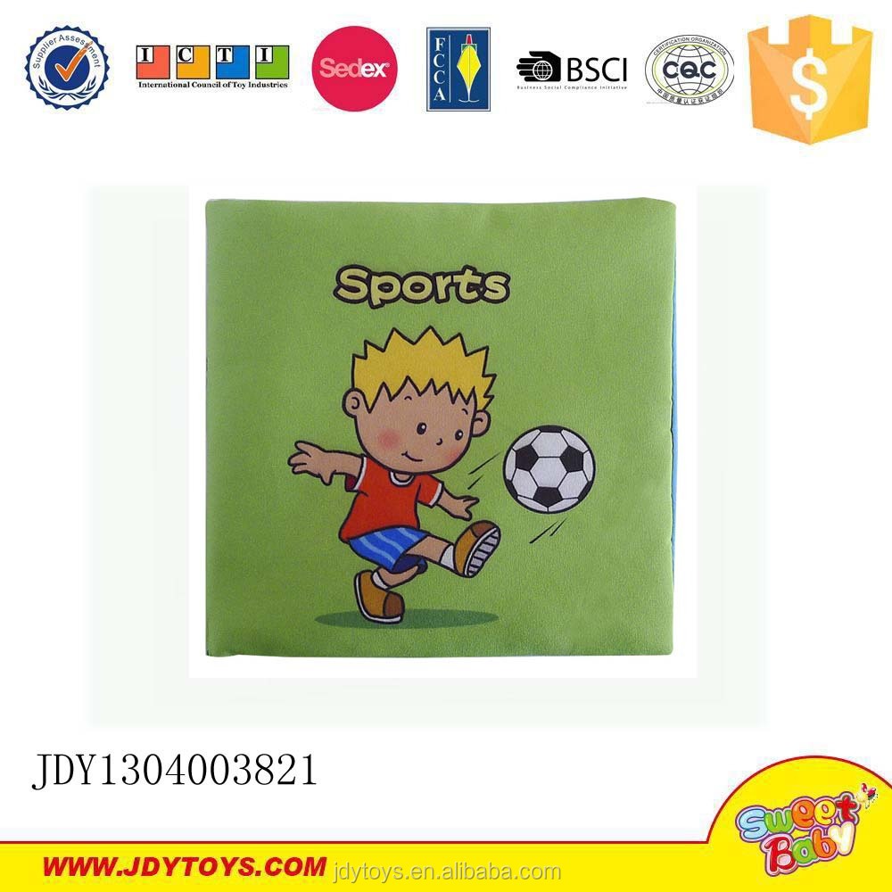 The best instruction books for kids intelligence toys cloth book sports