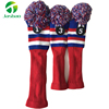 Customized Factory Price Knitted Golf club headcover