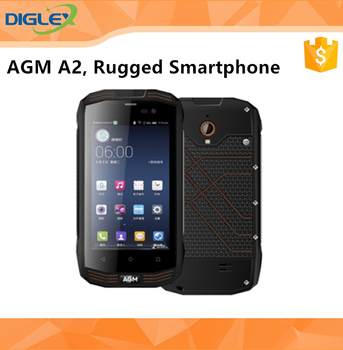 "Competitive Rugged SmartPhone AGM A2 4.0"" 2/16GB 2+8MP Water Dust Shock Proof 4G Smart Phone"