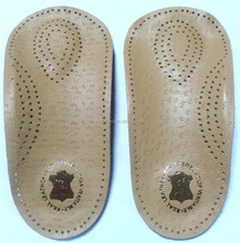 2016 high middle insole leather with tpe for shoes