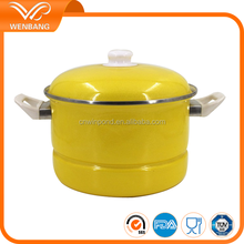 enamel kitchen cookware,steam cooking pot