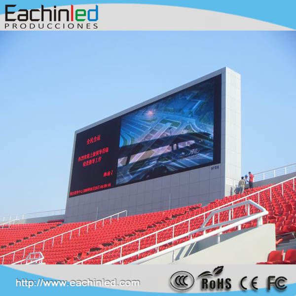 EachinLED Multimedia Outdoor Big P10 SMD Stadium LED Screens Live TV