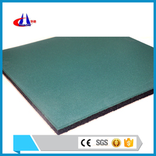Safety 500mm*500mm rubber playground paving manufacture