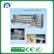 Ultrasonic Soft Sheer Blinds Fabrics Slitting Machine