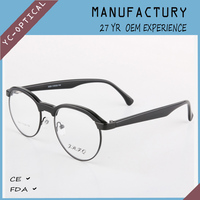 replica designer eye wear round rim eyeglasses fashionable woman eye glasses frames
