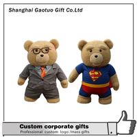 Customized High Quality New Design large plush teddy bears made in China,2015 New Wholesale Custom 300cm Teddy Bear Plush Toys,c
