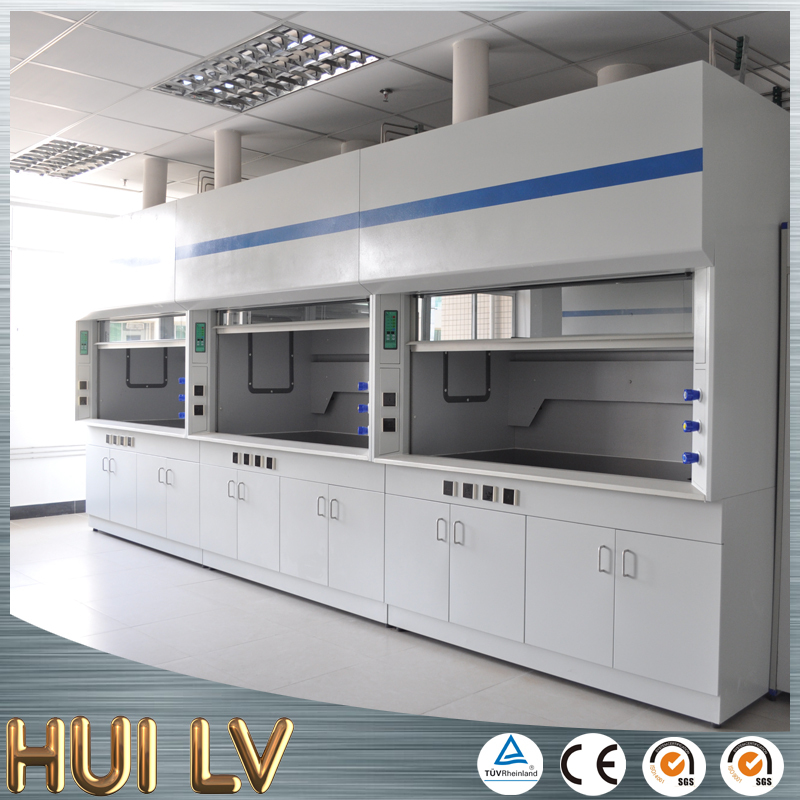 CE certificated chemical resistant steel laboratory furniture lab equipment chemistry laboratory fume hood
