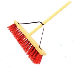 High quality Broom Head with Wood Block