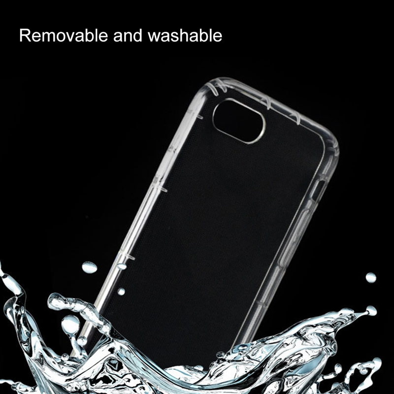 Shockproof Crystal Clear Ultra Slim Air Cushion Transparent Soft TPU Mobile Back Cover for OPPO F3/ R9S Plus / <strong>R10</strong>/ A77/ R11/ R1