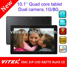 Made in china wifi 3G tech pad 10 inch android tablet
