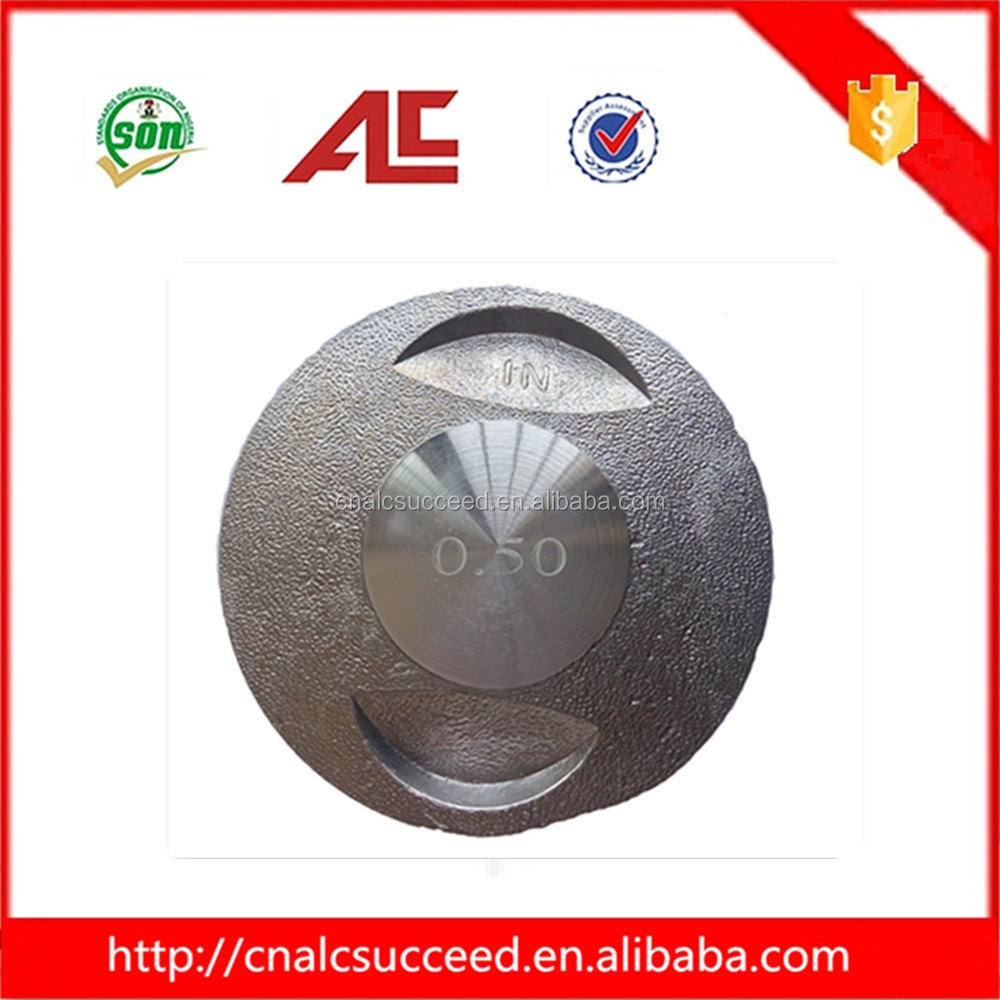 Motorcycle spare parts Cast Aluminum Piston