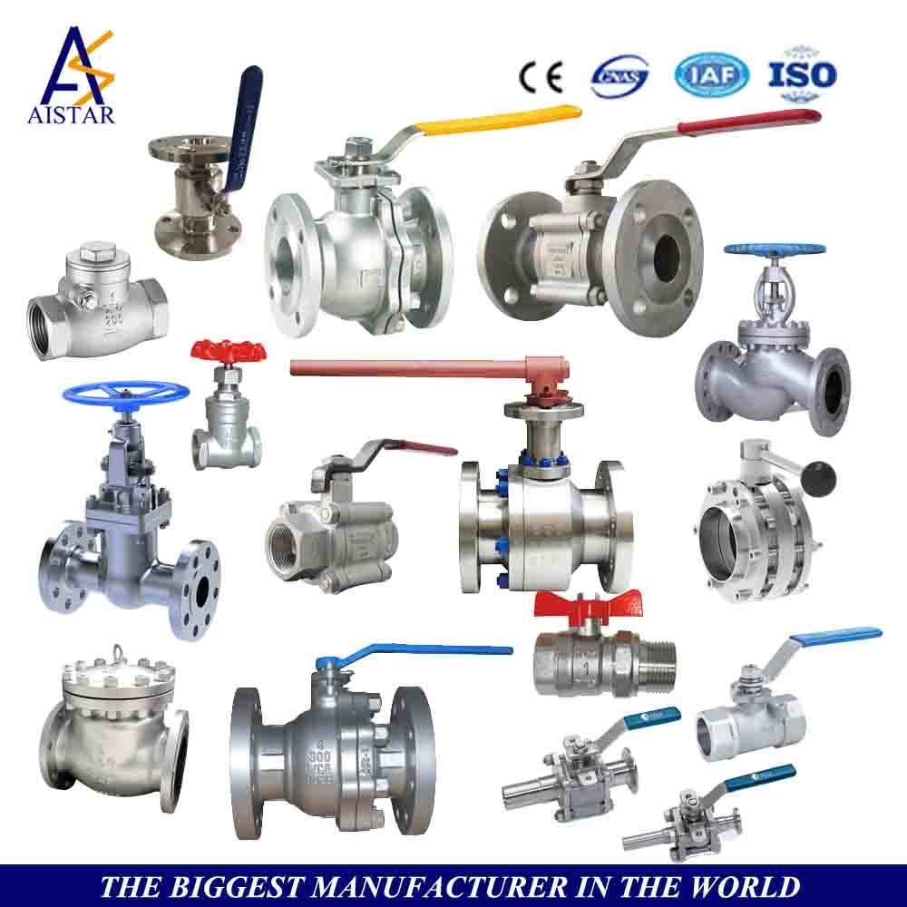 2017 High quality various types Ball valve