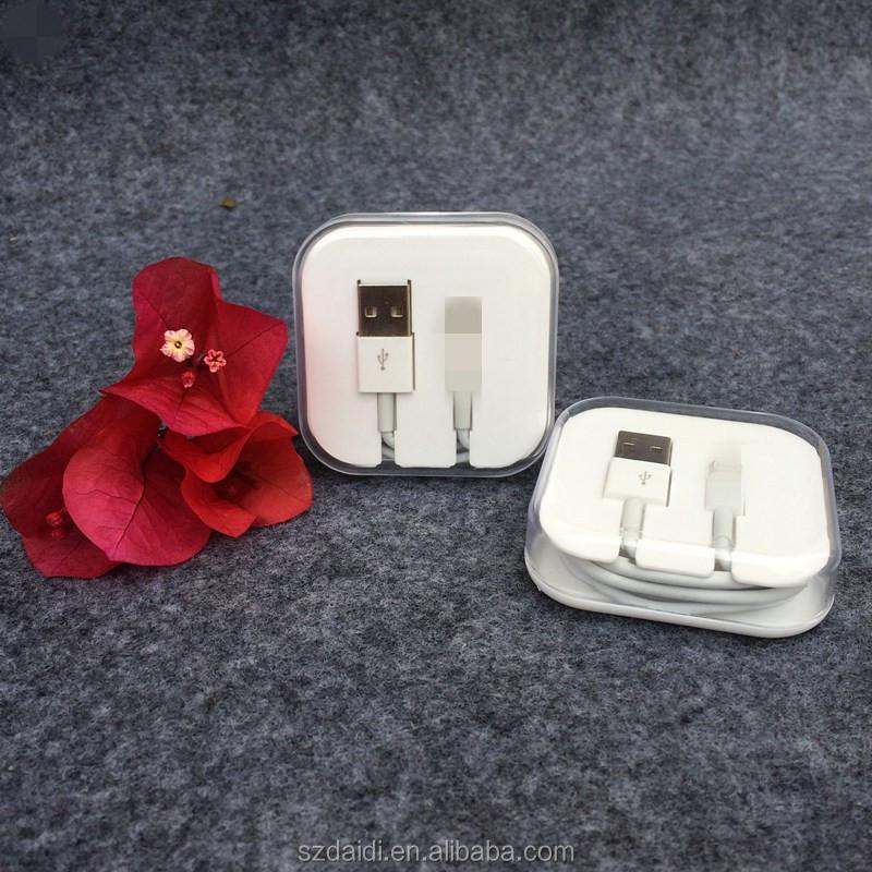 Fábrica Para o iphone 6 6 s cabo usb atacado para o iphone cabo ios 9 para iphone 5 cabo de dados do carregador aceitar PayPal