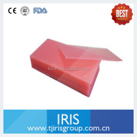 Low Price Dental Red Wax Sheet Dental Pink Wax Piece (Denture Material)